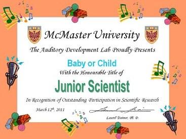 Jr Scientist Certificate 2