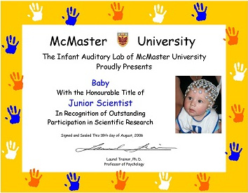 Jr Scientist Certificate