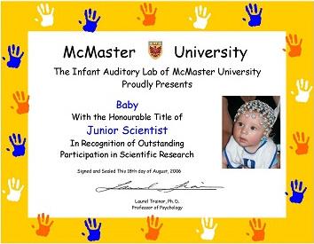 Jr Scientist Certificate